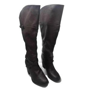 Indigo Rd. Brown Over The Knee Boots Size 11